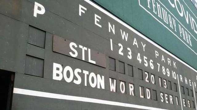 Fenway Jobs: Green Monster Scoreboard Operator