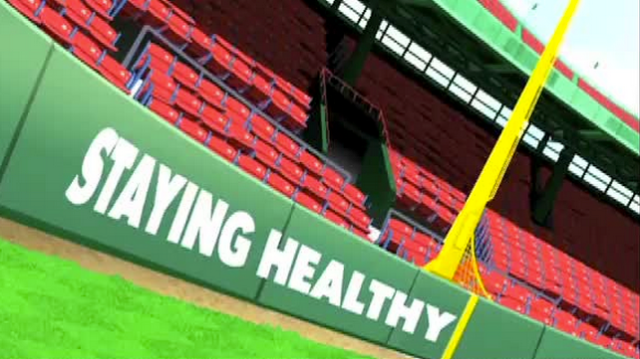 Staying Healthy: Red Sox Trainer Explains How To Properly Apply Ice