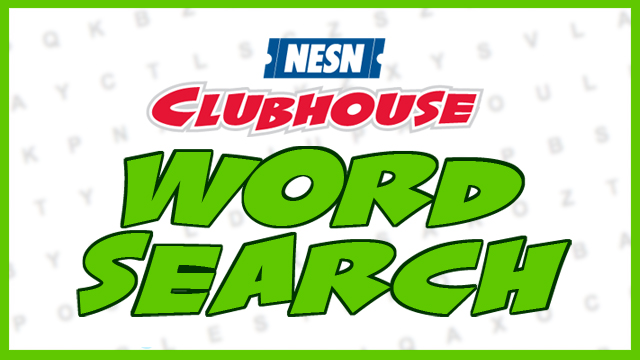 Bruins Player Word Search