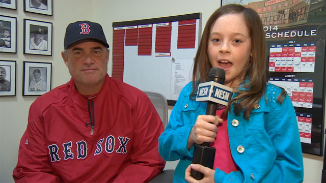 Kid Reporters: What's John Farrell's Favorite Part Of Fenway Park?