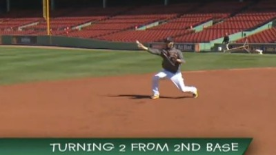 Red Sox Academy: Turning Double Plays From Second Base With Dustin Pedroia