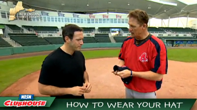 Red Sox Academy: Mike Timlin Shows How To Wear Your Hat