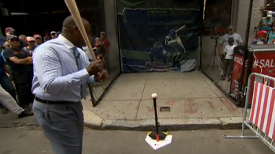 Red Sox Academy: Jim Rice Shows How To Hit A Line Drive