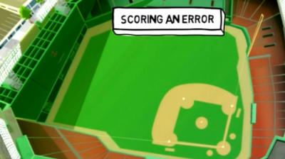 Stat Book: How To Score An Error