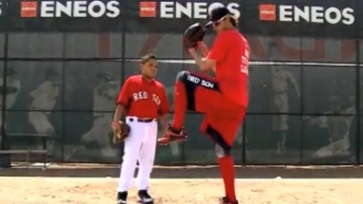 Red Sox Academy: Clay Buchholz Shows Off Proper Windup