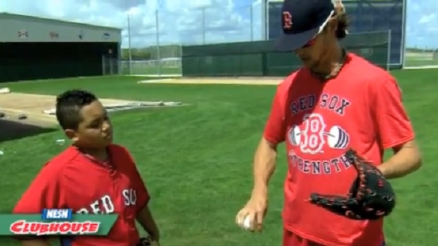 Red Sox Academy: Clay Buchholz Teaches Grips For Different Pitches