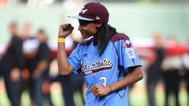 Mo'Ne Davis Talks President Obama, Jump Shots And Curveballs (Video)