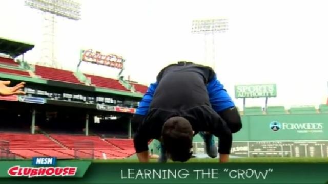 The Baseball Lab: Gary Striewski Learns How To Do 'The Crow' In Yoga