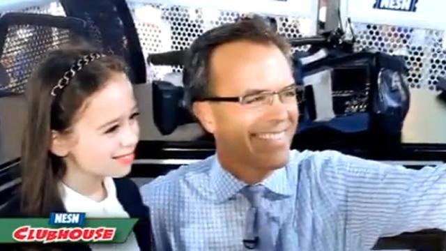 Small Talk: NESN Cub Reporter Shayna Rose Interviews Tom Caron