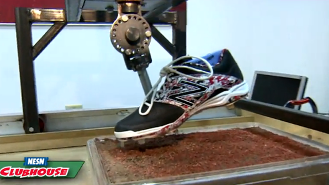 The Baseball Lab: New Balance Tests Traction On Cleats