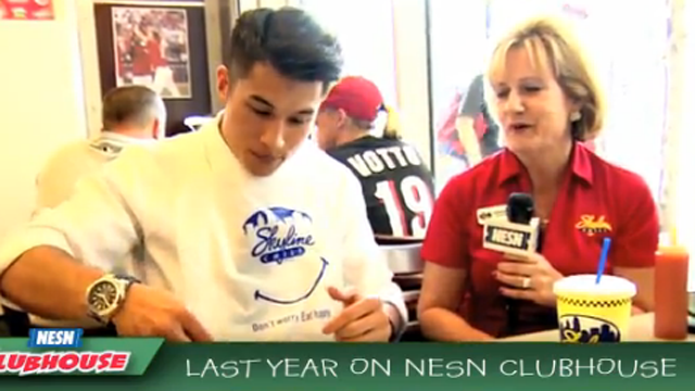 Last Year On NESN Clubhouse …