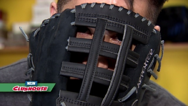 Baseball Lab: Gary Striewski Learns About Different Types Of Baseball Gloves