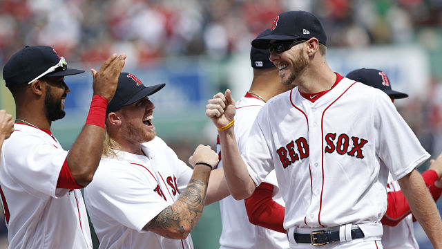 Red Sox Small Talk: Chris Sale Talks Bad Dance Moves, Lack Of Music Talent