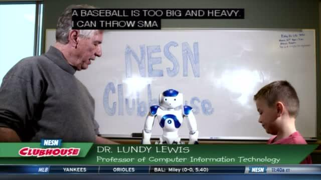 Baseball Lab: Playing Baseball With Robot