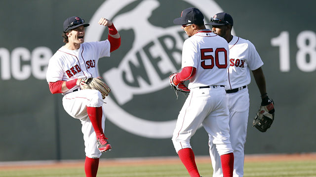Red Sox Small Talk: Andrew Benintendi Discusses Dancing After Wins, His Love For Shoes