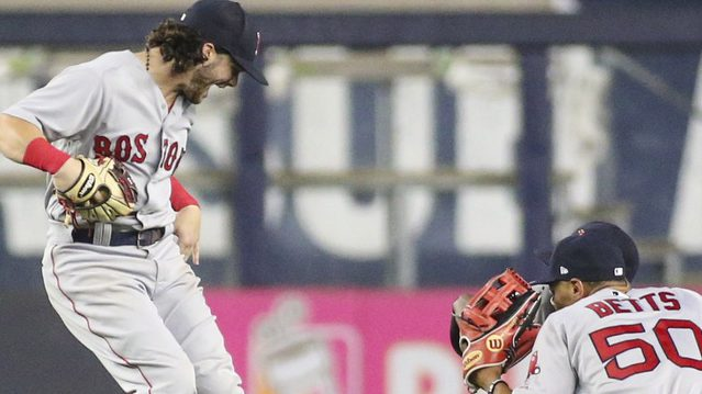 Small Talk: Andrew Benintendi Discusses Favorite Clothes, Dishes On Dance Moves