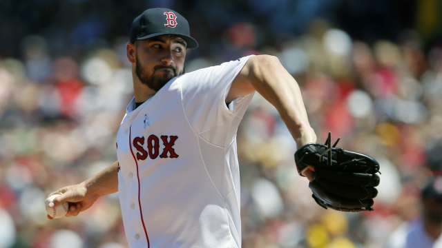 Red Sox Small Talk With Brandon Workman