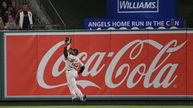 Jackie Bradley Jr.'s Advice On Catching Deep Fly Balls