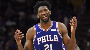 Philadelphia 76ers forward Joel Embiid