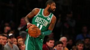 Celtics guard Kyrie Irving