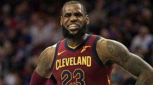 NBA forward LeBron James