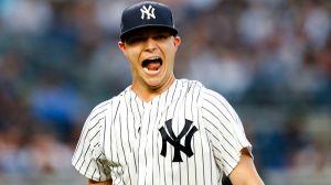 New York Yankees pitcher Sonny Gray