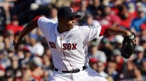 Boston Red Sox reliever William Cuevas