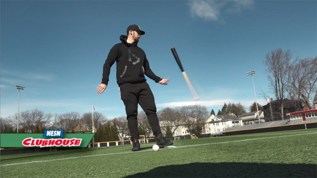 'Bat Trick Guy' Gives His Tips For Bat-Flipping Fun