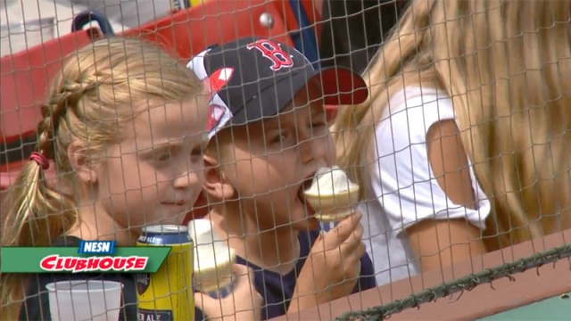 Ice Cream And Flossing (No, Not the Dance) At Fenway Park